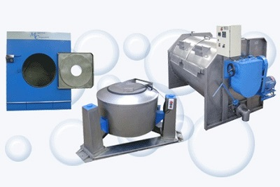 Máquinas para Lavanderias Industriais
